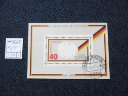 ALEMANIA   1974   MICHEL  BLOCK Nº10 Used - Gebraucht