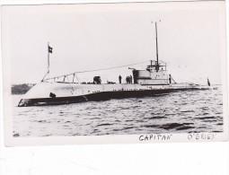 Batiment Militaire Marine Chili Sous Marin Classe Odin Capitan O'Brien Superbe - Boats
