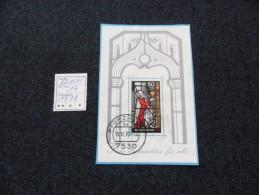 ALEMANIA   1974   MICHEL  BLOCK Nº15  Used - [7] República Federal