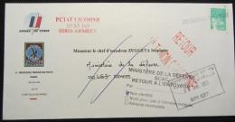 Bureau Postal Interarmées 627 De PORT BOUET (Côte D´Ivoire) - Opération LICORNE - Postmark Collection (Covers)
