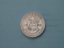 1928 - FLORIN - KM 18 ( Uncleaned - Details Zie Foto´s ) ! - Südafrika