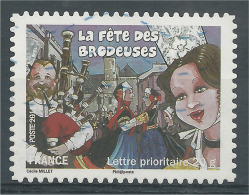 "France, Celebrations And Traditions, ""la Fête Des Brodeuses"", 2011, VFU - Used Stamps"