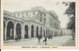 LOMBARDIA-BERGAMO-BERGAMO NUOVA IL SENTIERONE PORTICI ANIMATA - Bergamo