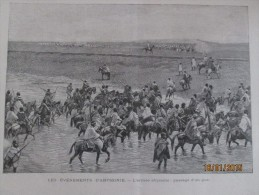 1896  Ethiopie  Abyssinie L Armée    Abyssine   MENELIK  + Carte Du Theatre De La Guerre - Vieux Papiers