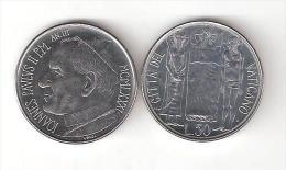C) VATICANO GIOVANNI PAOLO II°  LIRE 50 DEL 1981 FDC - Vaticaanstad