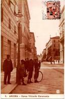 MARCHE -- ANCONA -- CORSO VITTORIO EMANUELE -- BELLA ANIMAZIONE -- FOTOGRAFICA --  N. P. G. -- - Ancona