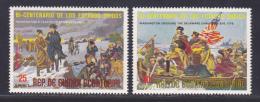 GUINEE EQUATORIALE AERIENS N°   44  (2 Val.) ** MNH Neufs Sans Charnière, TB, Bicentenaire Révolution - Equatoriaal Guinea
