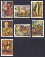 GUINEE EQUATORIALE N°   60  (7 Val.) ** MNH Neufs Sans Charnière, TB, Bicentenaire Révolution - Guinée Equatoriale