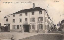 BOURGNEUF VAL D´OR_Hotel Du Commerce_Ed Michel_1922 (leger Arrachage Coin Sup Droit) - Altri Comuni