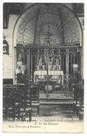 Oeudeghien (Frasnes-lez-Anvaing). Intérieur De La Chapelle De Notre-Dame Du Buisson. Cachet Postal Ligne 1906. Timbre 53 - Frasnes-lez-Anvaing