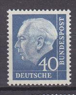 BRD 260 y, postfrisch **, Theodor Heuss 1956