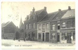 Lessines. Lessen. Route de Ghislenghien. Gellingenweg. Estaminet L. Dubreucq-Debacker. Cachet: Lessines 1902. Timbre 53.