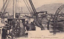 MARINE FRANCAISE MANOEUVRE DU CABESTAN (DIL130) - Manoeuvres