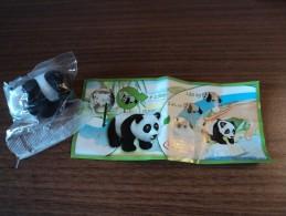 Kinder Surprise  DC 022 Panda + Bpz - Mountables