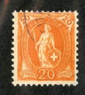 3391  Swiss 1905   Mi.#74C (o) Scott.#105    Cat. 5.€ -Offers Welcome!- - Gebraucht
