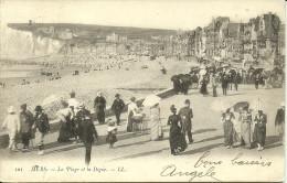 MERS - La Plage Et La Digue                   -- LL 101 - Mers Les Bains