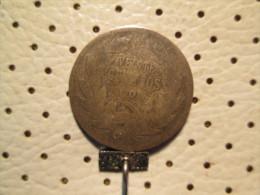 CHILE 20 Centavos 1908  2.57 G - Chile