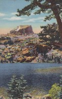 Colorado Rocky Mountain National Park Bear Lake And Hallett Peak