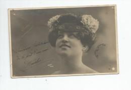 Cp , Spectacle , Artiste , ROBERT , Dos Simple , Voyagée 1904 , Papier Guilleminot - Artistes