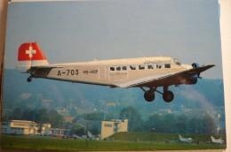 JUNKER JU 52   HB HOP - 1946-....: Moderne