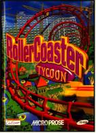 Computer-Spiel-Anleitung  Roller Coaster Tycoon  -  Von Microprose - Elektronikspiele