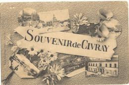 Souvenir De CIVRAY -  Multivues    21 - Civray