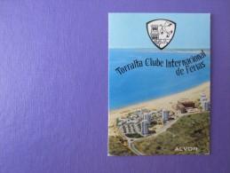 HOTEL PENSAO RESIDENCIAL PENSION TORRALTA ALVOR PORTUGAL DECAL STICKER LUGGAGE LABEL ETIQUETTE AUFKLEBER PORTUGAL - Hotel Labels