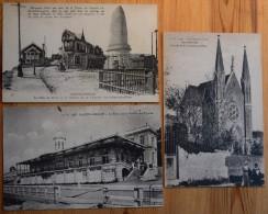 76 : Sainte-Adresse - 10 CPA  4 Animées - Pain De Sucre - Chapelle N.-D. Des Flots - Palais Sté Régates - Etc. (n°3481) - Sainte Adresse