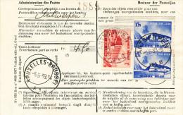 320/23 --  Document Correspondances R�exp�di�es  TP Expo Eau ANTWERPEN 1939