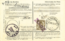 323/23 --  Annulation par CROIX de ST ANDRE Artisanale de SINAAI  - RARE Document Correspondances R�exp. TP Sceau Etat