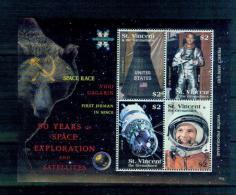 Saint Vincent And The Grenadines T09 2008 Souvenir Sheet MNH Space Race - Space
