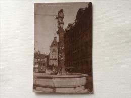 Bern Dudelsackpfeifer Brunnen Spedita Nel 1927 F.p. - BE Berne