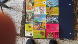 Prepiad Card-( Lot 23)-12 Card Prepiad $3.80,20,30,50-used+2 Card Preoiad Free - Télécartes