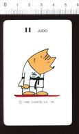 Humour Sport / Judo Judoka Olympique  // IM 126/53 - Vecchi Documenti