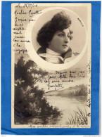 MARVILLE - Portait  Sur Fond De Paysage -TTB -Par Reutlinger- A  Voyagé En 1904 - Artistes