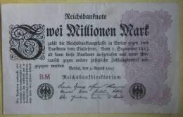 2000000 Mark 1923 (WPM 104d) 2 Millionen 9.8.1923 - 2 Millionen Mark