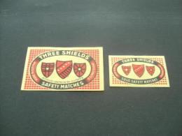 471- Hinged - Austria - Autriche - Three Shields - Boites D'allumettes - Etiquettes