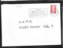 FLAMME TEMPORAIRE   65  BAGNERES DE LUCHON - Mechanical Postmarks (Advertisement)