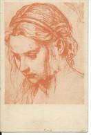 ART1111- BELLE ARTI - CARTOLINA F.P. NON VIAGGIATA - ANDREA DEL SARTO - STUDIO PER LA TESTA DELLA MADDALENA - Pittura & Quadri