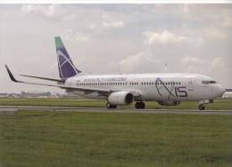 AXIS AIRLINES, Boeing 737-86N, Unused Postcard [15934] - 1946-....: Moderne
