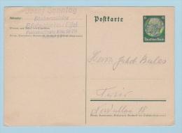 ALLEMAGNE   //  Entier Postal  //  De Dudesheim  //  Pour Trier   // - Ganzsachen