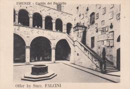 CHROMO FLORENCE FIRENZE / CORTILE DEL BARGELLO - OFFER BY SUCC. FALCINI - Chromos