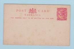 TASMANIA   //  Entier Postal  //  VIERGE - 1853-1912 Tasmania