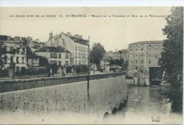94, VAL De MARNE,St-MAURICE, Moulin De La Chaussée Et Quai De La République,Scan Recto-Verso - Saint Maurice