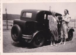 PHOTO-ORIGINAL-D´EPOQUE-AUTO-OLD-TIMER- COLLECTION-FAMILLE BERNARD-GERPINNES-BELGIQUE-DIM.:6 A 8,5 CM - Automobiles
