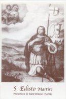 Sant'Oreste RM - Santino SAN EDISTO MARTIRE - PERFETTO H36 - Religión & Esoterismo