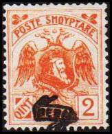 1920. SKANDERBEG 2 QINT BESA.  (Michel: 76 II) - JF126320 - Albania