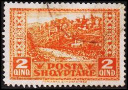 1923. 2 QIND. (Michel: 83) - JF126333 - Albania