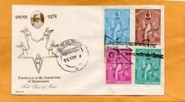 Nepal 1963 FDC - Népal