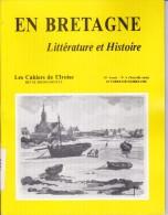 LI15-009: CAHIERS IROISE EN BRETAGNE LITTERATURE ET HISTOIRE N° 3 1988 BREST - Non Classés